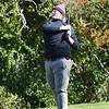 BRYAN EATON/Staff photo. Rockport's Jacob English tees off.