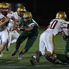 JIM VAIKNORAS/Staff photo Newburyport's Thomas Greene turns the corner at North Reading Friday night.
