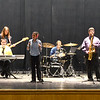 JIM VAIKNORAS/Staff photo  The Berkshire Hills Music Academy performs at the Molin Middle School Friday afternoon. The band is a mixed-ability groups that puts on concerts across the state and also talks about their disabilities with students.