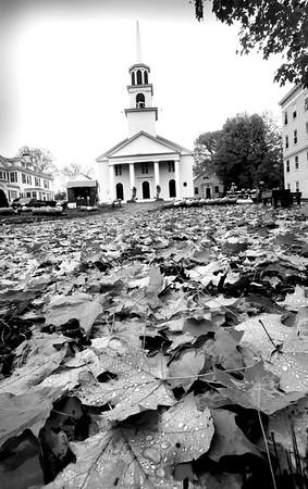 BRYAN EATON/Staff Photo. Amesbury's Main Street Congregational Church.