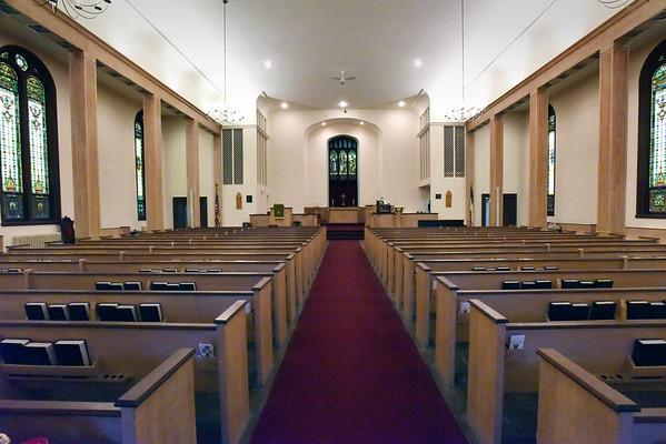 BRYAN EATON/Staff photo. Central Congregational Church in Newburyport.