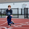 BRYAN EATON/Staff Photo. Triton track star Graham Stedfast has set new school records in the mile for both indoor and outdoor track and is starting to look like a possible all-time great for the Triton distance program.