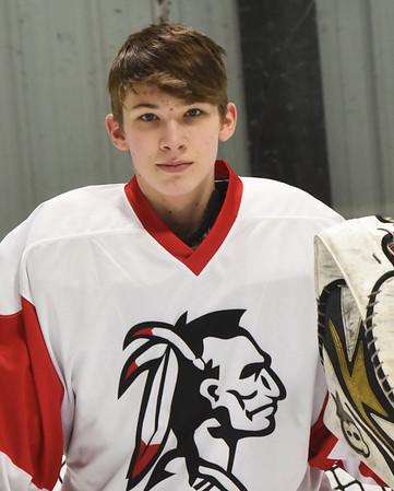 BRYAN EATON/Staff Photo. Tre Marcotte is Amesbury's starting goalie as a freshman.