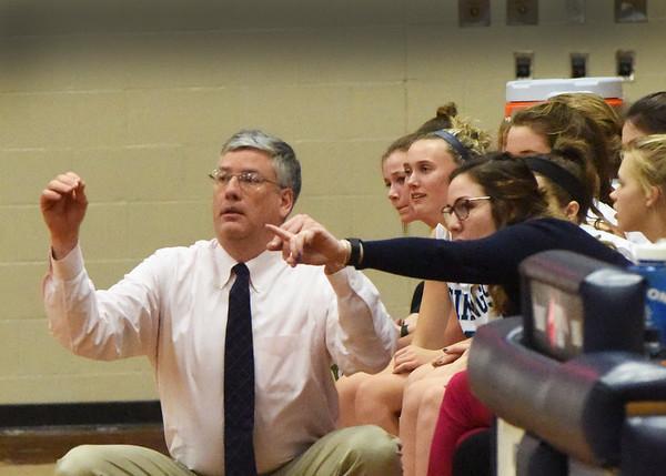 BRYAN EATON/Staff photo. Triton girls basketball coach Dan Boyle.