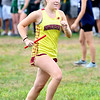 JIM VAIKNORAS/Staff photo Newburyport's Kacey Hansen at the Clipper Relay at Maudslay State Park Saturday.