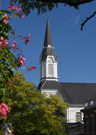 BRYAN EATON/Staff photo. The Market Street Baptist Church in Amesbury