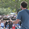 JIM VAIKNORAS/Staff photo  Phillip Phillips performs at the 92.5 Riverfront Festival in Market Landing Park in Newburyport Saturday.