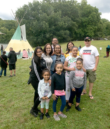 JIM VAIKNORAS/Staff photo Native American Powwow at Plug Pond in Haverhill saturday.