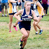 JIM VAIKNORAS/Staff photo Triton's Sarah Harrington at the Clipper Relay at Maudslay State Park Saturday.