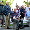 BRYAN EATON/Staff Photo. Attendees listen to Shuttleworth as he advocates for the plight of veterans in need.