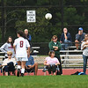 BRYAN EATON/Staff Photo. Spectators watch Pentucket host Newburyport in girls soccer on Tuesday under a cloudy sky. Watching sports on Wednesday afternoon if forecast to be a little sunnier as clouds break in the morning.