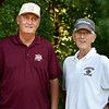 BRYAN EATON/Staff Photo. Bill Pettingell, left, is stepping back in as Newburyport golf coach, with assistant Bill Gurczak.