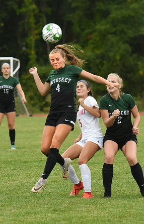 BRYAN EATON/Staff photo. Jacey Jennings is a third-year starter for Pentucket girls soccer.