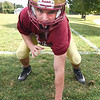 BRYAN EATON/Staff photo. Nic Colella is a linebacker for the Newburyport football team.
