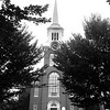 BRYAN EATON/Staff Photo. The Central Congregational Church as seen from Brown Park in Newburyport.
