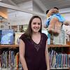BRYAN EATON/Staff photo. New Newbury Public Library children's librarian Katelyn White.