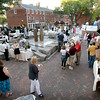 BRYAN EATON/Staff photo. Newburyport's Inn Street was turned into a giant restaurant as Savor Newburyport kicked off a grand tasting featuring food, fashion and art. The festival, hosted by the Newburyport Chamber of Commerce, continues with Restaurant Week until October 1.