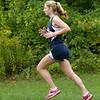 BRYAN EATON/Staff photo. Hamilton-Wenham's Olivia Horgan nears the finish line to win the meet.