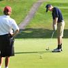 BRYAN EATON/Staff photo. Triton's Nick Ritchie putts.
