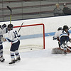BRYAN EATON/Staff photo. Triton's Brad Killion gets their second goal of the game.