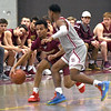 JIM VAIKNORAS/Staff photo Newburyport's George Coryell brings the ball up at Lowell Saturday.
