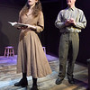 BRYAN EATON/Staff photo. Caroline Hall as Lizzie and Michael Johnson as Peter.