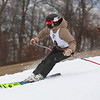 MIKE SPRINGER/Staff photo<br /> Charlie Greenberg of Pentucket Regional High School competes in the giant slalom event as part of the Haverhill High School ski team Friday at the Bradford Ski Area in Haverhill.