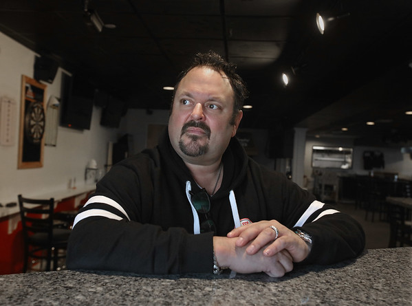 MIKE SPRINGER/Staff photo<br /> Kevin Kenney, owner of the Salisbury Sports Pub, recently survived a harrowing ordeal with Covid-19.