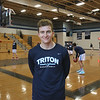MIKE SPRINGER/Staff photo<br /> Kyle Odoy of the Triton varsity basketball team.