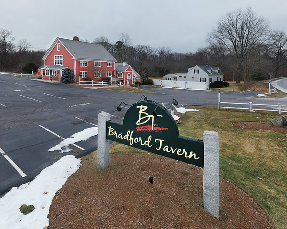 MIKE SPRINGER/Staff photo<br /> The recently closed Bradford Tavern in Rowley.