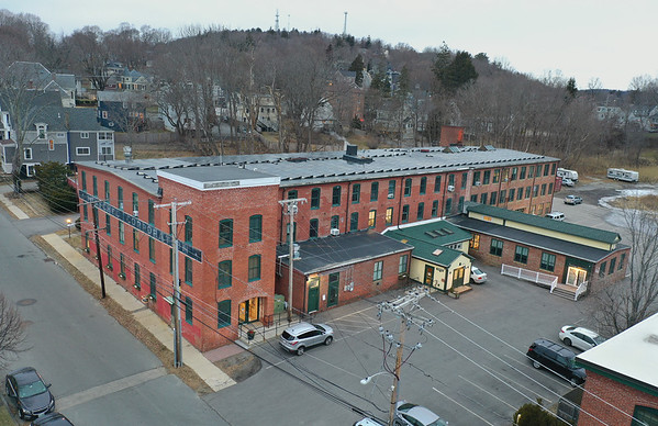 MIKE SPRINGER/Staff photo<br /> The former Henschel Corporation building at 14 Cedar Street in Amesbury, where the Unity on the River Church now has its office after moving from its former location at 58 Macy Street.