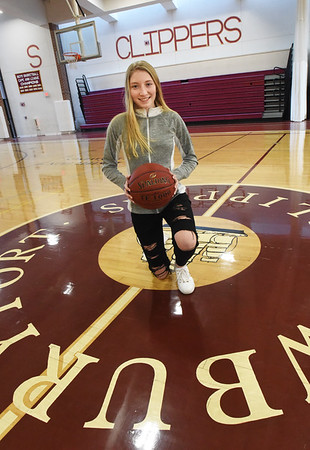 BRYAN EATON/Staff Photo. Newburyport High junior Elle Doucette.