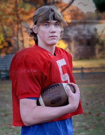 BRYAN EATON/Staff Photo. Amesbury High football's Kyle Donovan.