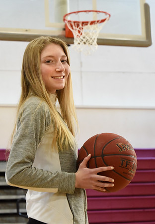 BRYAN EATON/Staff Photo. Newburyport High junior Elle Doucette.