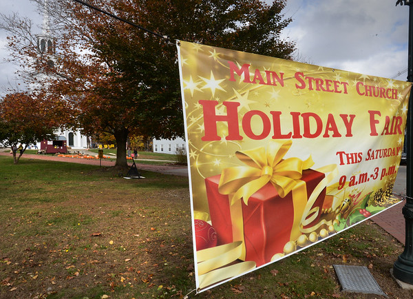 BRYAN EATON/Staff photo. The Main Street Congregational Church was one of six participating the Amesbury's Village of Church Fairs on Saturday.
