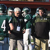 BRYAN EATON/Staff photo. Pentucket coaches Steve Hayden, left, and Dan Leary.