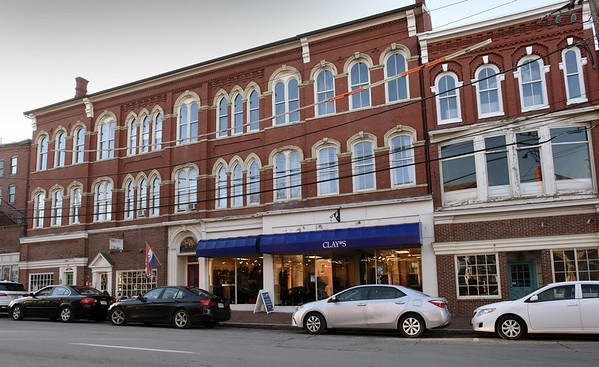 BRYAN EATON/Staff Photo. The O'Brien Building on State Street in downtown Newburyport has been sold.