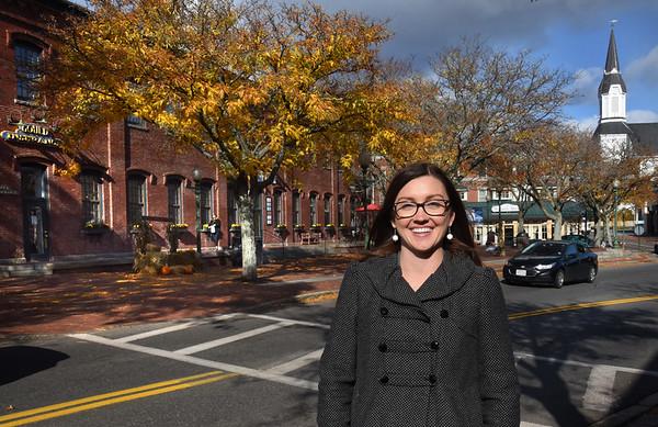 BRYAN EATON/Staff Photo. Amesbury's mayor-elect Kassandra Gove.