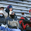 BRYAN EATON/Staff photo. There wasn't much exposed skin from spectators of the Triton and Pentucket High football game at Haverhill Stadium.