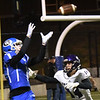 BRYAN EATON/Staff photo.Matthew Galley catches a pass for some yards in the first period against Shawsheen Tech.