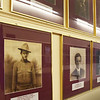 BRYAN EATON/Staff photo. Portraits of Newburyporters who died in World War I, which ended 100 years ago, line the walls of Newburyport City Hall.