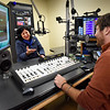 BRYAN EATON/Staff photo. Newburyport Mayor Donna Holaday is interviewed by Drew Moholland for the NCM Hub at Port Media. New FCC rules could have an impact on local cable stations.