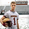 BRYAN EATON/Staff photo. Newburyport football senior Jake Lane.