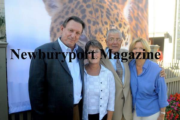 Kelly Seyler, Cathy Seyler, Claudia Hull and Joe Pignato at the 2010 Jaguar preview at Joseph's Winter Street Cafe. JIm vaiknoras photo
