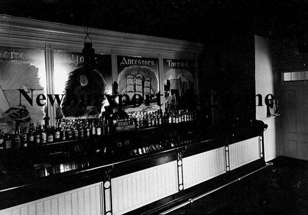 Newburyport:Wolfe Tavern circa 1940's<br /> Photo by Handout/Newburyport Daily News Wednesday, April 30, 2008