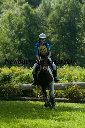West Newbury: Jennifer Parker rides Sweet Intuition at the West Newbury Riding and Driving Club Trial Series at Pipe Stave Hill . Jim Vaiknoras/Staff photo