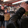 Amesbury: WWE champ John Cena, a West Newbury native, poses for pictures with Brandi Wilson, 11, of Amesbury as he visits Hard Nock's Gym for the filming of a WWE special. Brandi's father, Barry, remembers Cena from his early days of training at the gym. <br /> Photo by Katie McMahon/Newburyport Daily News. Wednesday, March 8, 2006