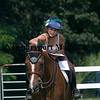 West Newbury: Danika Bruce, 13 give her horse Guy a pat will riding  at Pipe Stave Hill. Jim  Vaiknoras/Staff photo