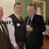 From left, Ray Nippes, chairman board of directors of the Greater Newburyport Chamber of Commerce; Bill Piercey, Chase and Lunt Insurance and Mark Welch, President of Institution For Savings.