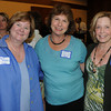Mimi Reeves, Developmental Director at the IC School. Elaine Cohen of the Jeanne Gieger Crisis Center, Catherine Russell of Mind Body Wellness at the Take Me Out to the Ball Game Chamber Mixer at the Institution for Saving.